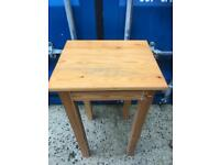 Pine side table FREE DELIVERY PLYMOUTH AREA