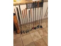 Junior golf clubs various sizes