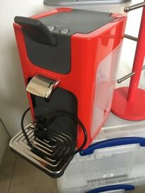 Philips Senseo Coffee Machine red
