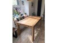 Next hartford solid pine dining table