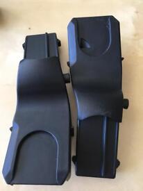 Silvercross maxi cosi car seat adapters