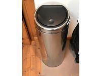 Brabantia Kitchen Bin - Silver 30L