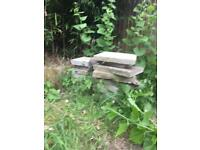 Concrete patio / paving slabs- job lot approx 20 — £20 for all