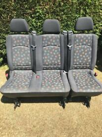 Mercedes Vito Rear Seats