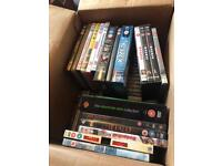 200 DVD's mixed