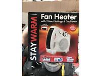 Fan Heater x2
