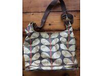 Oarla Kiely Changing bag + mat