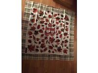 Burberrys women's scarf 100% Silk