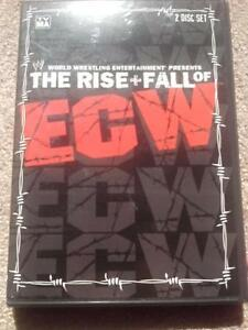 WWF/WWE The Rise and Fall of ECW 2 Disc DVD Set