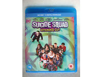 Suicide Squad EXTENDED EDITION on Blu-ray >> BRAND NEW <<