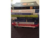 University Psychology text books- free to collect