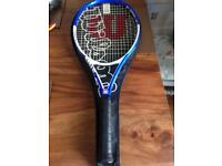 Wilson carbon nano tour 110 tennis racket