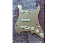 Fender Stratocaster Loaded Pickguard, Sigler 920D Semour Duncan SSL-5, Fender Texas Specials