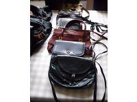 6 x Handbags/Shoulder bags and 6 x Holdalls.