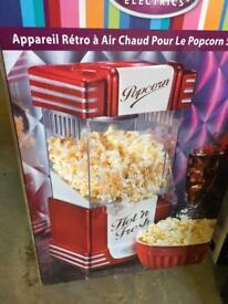 Popcorn maker used 2times
