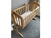 Mamas and Papas wooden crib