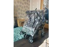 Double Buggy - McLaren Twin Techno - Excellent Condition (Hardly Used)