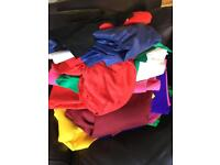 Massive bundle of fabrics