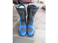 Dainese motorbike boots size 42