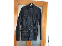Ladies jacket size 16 pvc. Excellent condition. Hardly worn.