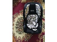 Rear facing child car seat