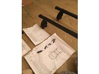 Car roof rack and bike holder