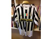 Great Retro Replica shirts and rugby training incl. Juventus, Real Betis, Charlton, mint condition