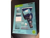 Microscope Set from Marks & Spencer - Excellent Condition - All parts still in box