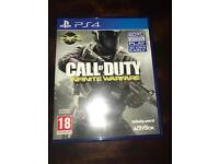 Call of duty infinitive warfare (PS4)