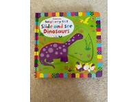 Usborne baby's very first slide and see dinosaurs book