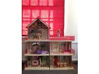 Hornby Cassy complete dolls house inc disco, stable, ballet studio