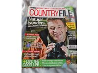 BBC Countryfile Magazines (12 copies) 2008 / 2009 Used condition