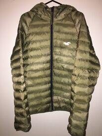 Men's camo down Hollister coat