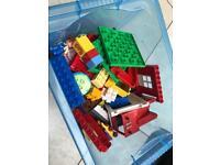 2-3kg of mixed Lego Duplo