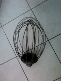 Hobart whip whisk attachment, for floor standing machine, as new