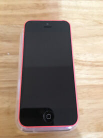 iPhone 5C pink unlocked good condition