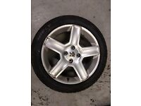Peugeot 307 205 55 17 wheel and new tyres 1x