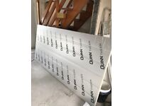 Foil back Insulation board, 50mm thick
