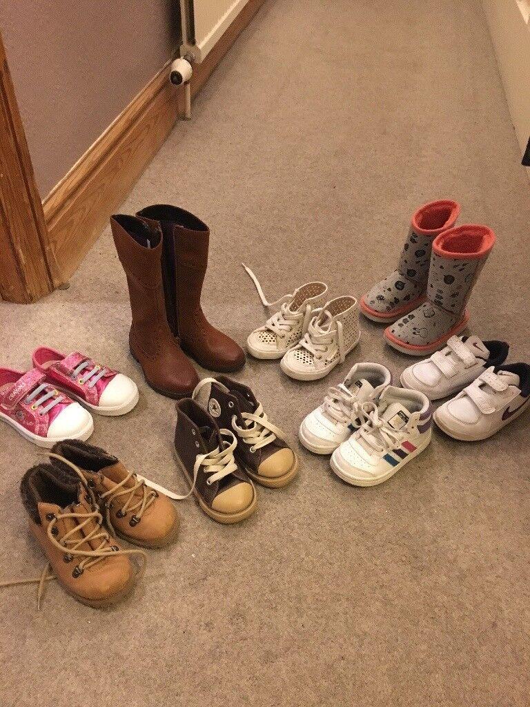Girls shoe collection (size 7-7.5 uk)