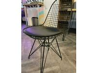 12 Rustic Modern Metal Wire Chairs (Cafe/Restaurant)