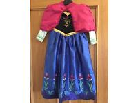 Disney Frozen Anna Costume Dressing up Dress Age 4-5 years