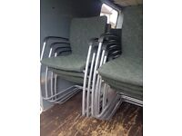 Quality Office stacking chairs . office meeting room chars . reception chairs