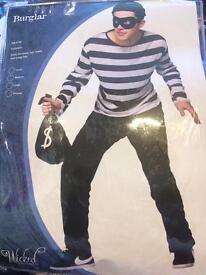 Burglar set for men size m - fancy dress