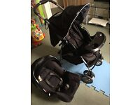 Graco Mirage+ Travel System with car seat base