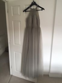 Beautiful silver/grey Bridesmaid or Prom Dress