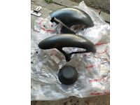 Ducati carbon fiber mudguards and cluch cover Monster 900 M2