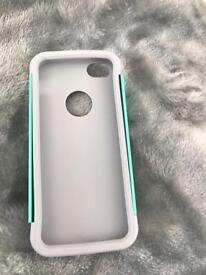 Iphone SE two piece case.