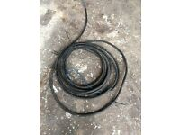 Steel armoured cable 17.5 meters for ponds sheds garden ect