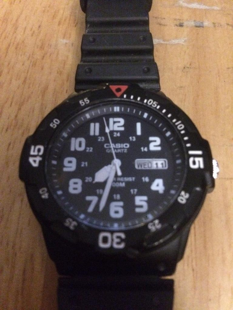 Casio watch £10