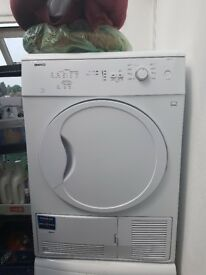 BEKO DC7110W, CONDENSER TUMBLE DRYER 7KG, VERY NICE CONDITION